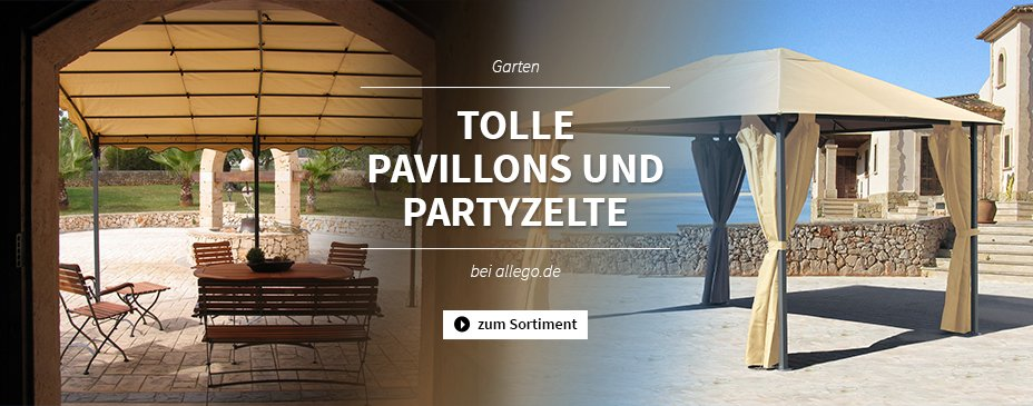 Pavillons & Partyzelte